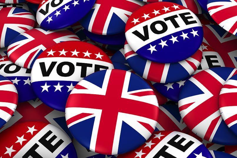 British election concept