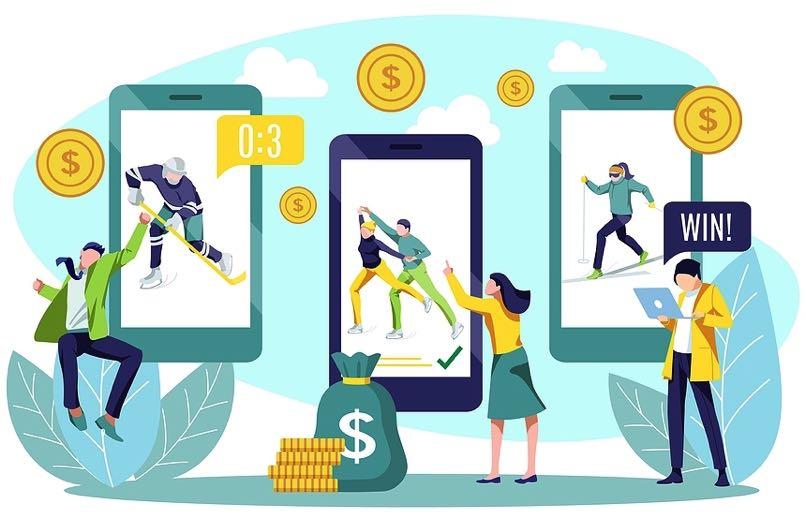 Online bookmaker concept