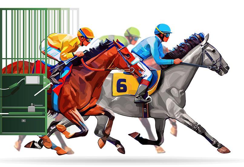 Jockey illustration